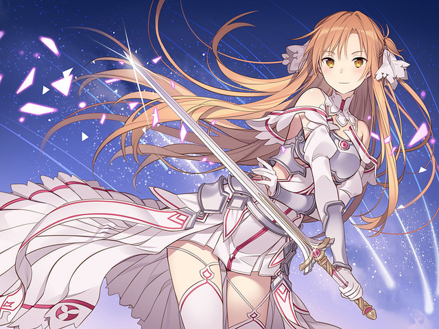 Asuna xuất hiện, cùng Kirito ở lại trong Underworld 200 năm