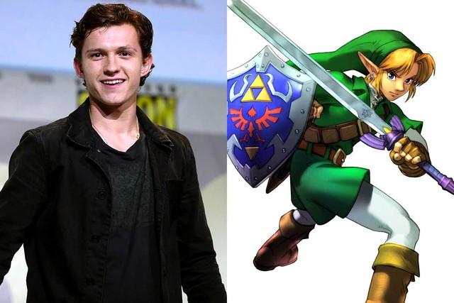Netflix làm phim Legend of Zelda với với nam tài tử Tom Holland vào vai Link? - Ảnh 1.
