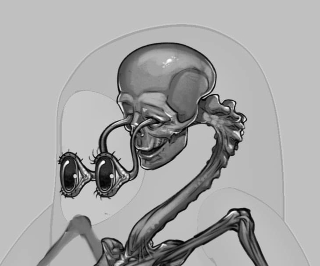 """Đối thủ của Among Us, tựa game khiến Độ Mixi, Dũng CT mê mẩn tung thiết kế bên trong nhân vật cực kỳ """"creepy"""" - Ảnh 6."""