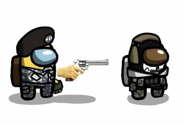 """Sau LMHT, game thủ lại chế Among Us phiên bản Call of Duty, khỏi nói cũng biết ai là """"Impostor"""" vĩ đại - Ảnh 3."""