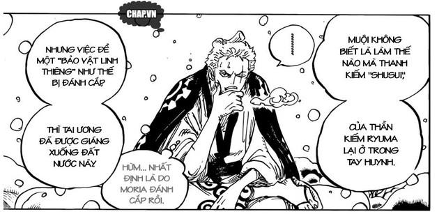 One Piece: Mối liên hệ giữa Ryuo cấp cao của các Cửu Hồng Bao và thanh Thu Thuỷ của Zoro - Ảnh 2.