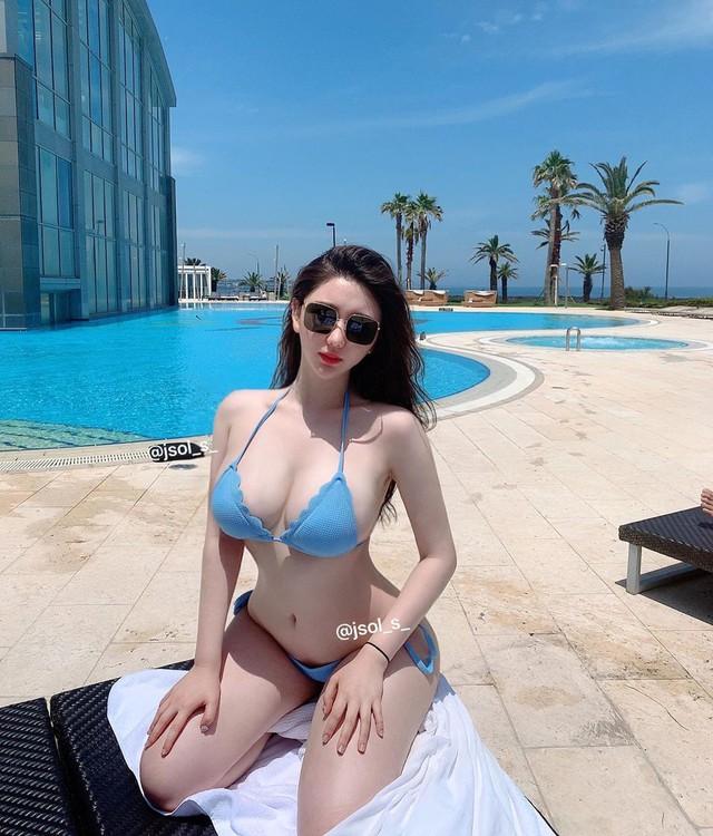 Mặt xinh dáng đẹp, hot girl siêu vòng 3 Hàn Quốc khiến fan sốc nặng khi từ bỏ tất cả để đi du học thạc sĩ - Ảnh 3.
