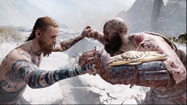 [Cũ mà hay] Kratos vs Baldur, màn đấu boss mở màn hay nhất nhì lịch sử - Ảnh 4.