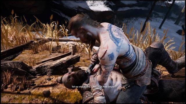 [Cũ mà hay] Kratos vs Baldur, màn đấu boss mở màn hay nhất nhì lịch sử - Ảnh 3.