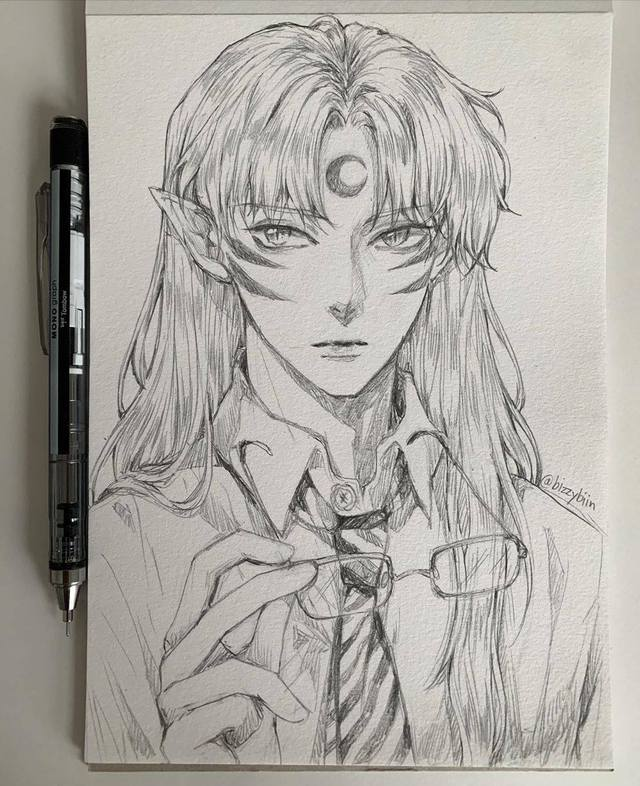 Loạt tranh vẽ tay đại yêu quái mỹ nam trong Inuyasha đẹp đến nỗi xem rồi không thể rời mắt - Ảnh 1.