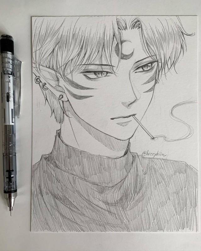 Loạt tranh vẽ tay đại yêu quái mỹ nam trong Inuyasha đẹp đến nỗi xem rồi không thể rời mắt - Ảnh 2.