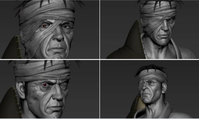 Kẻ bị ghét nhất Naruto trông thật kinh dị qua nét vẽ của các nghệ sĩ, trông chả khác gì quái vật - Ảnh 1.