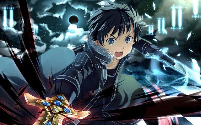 Sự tự tin của Kirito đã khiến cho một số người bị ảnh hưởng ở phần đầu Sword Art Online