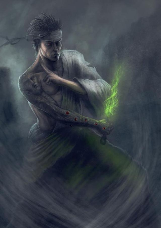Kẻ bị ghét nhất Naruto trông thật kinh dị qua nét vẽ của các nghệ sĩ, trông chả khác gì quái vật - Ảnh 3.