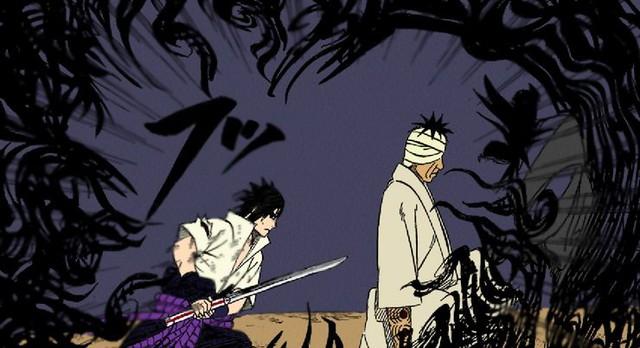 Kẻ bị ghét nhất Naruto trông thật kinh dị qua nét vẽ của các nghệ sĩ, trông chả khác gì quái vật - Ảnh 8.