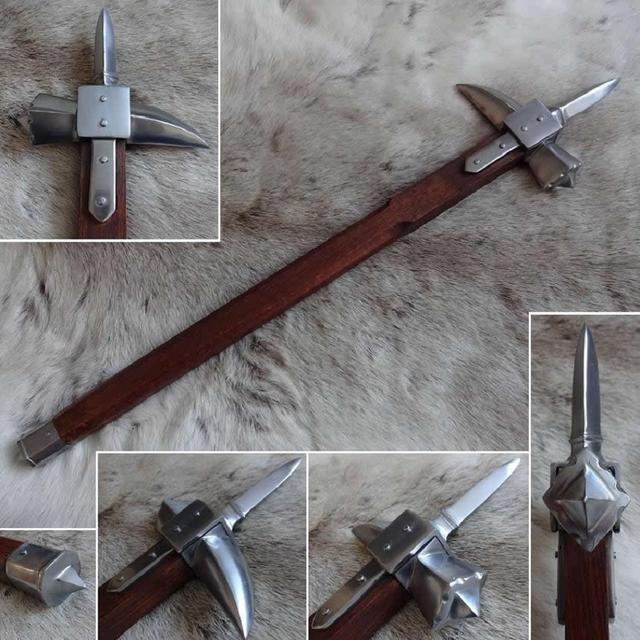 Búa chiến (Warhammer) – Từ đồ gia dụng thành vũ khí nguy hiểm bậc nhất thời Trung Cổ - Ảnh 1.