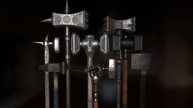 Búa chiến (Warhammer) – Từ đồ gia dụng thành vũ khí nguy hiểm bậc nhất thời Trung Cổ - Ảnh 4.