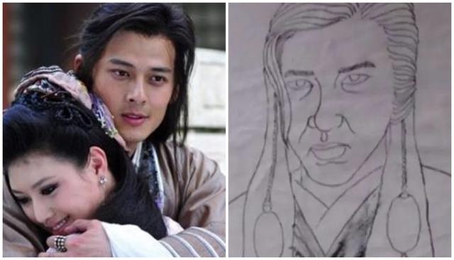 Cười ngoác mồm với tranh chân dung của mỹ nam mỹ nữ trong phim cổ trang Trung Quốc - Ảnh 13.