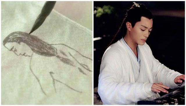 Cười ngoác mồm với tranh chân dung của mỹ nam mỹ nữ trong phim cổ trang Trung Quốc - Ảnh 14.
