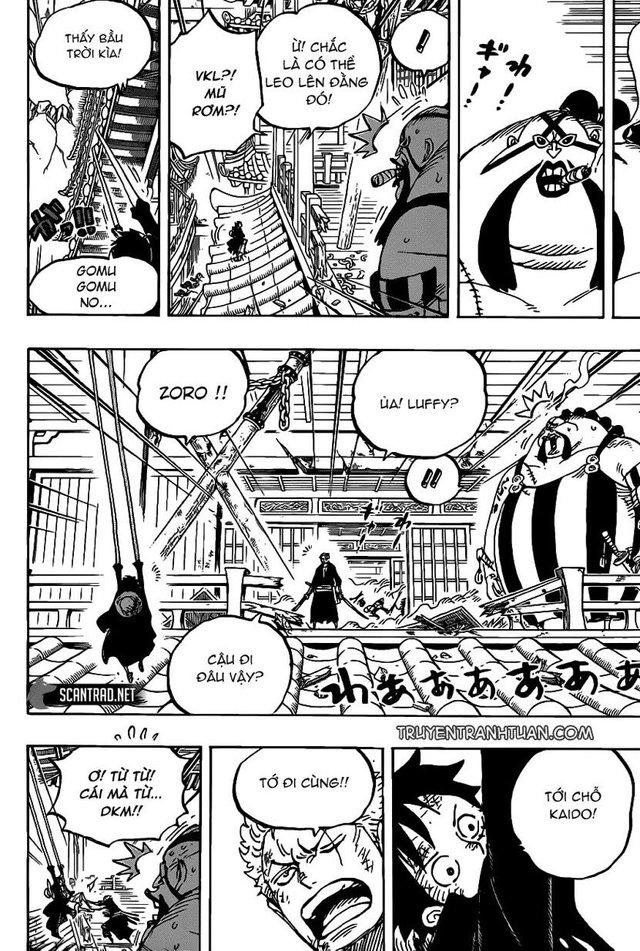 One Piece 989: Sau nhiều chap tấu hài, cuối cùng Queen cũng ra tay ngăn cản Luffy - Ảnh 2.