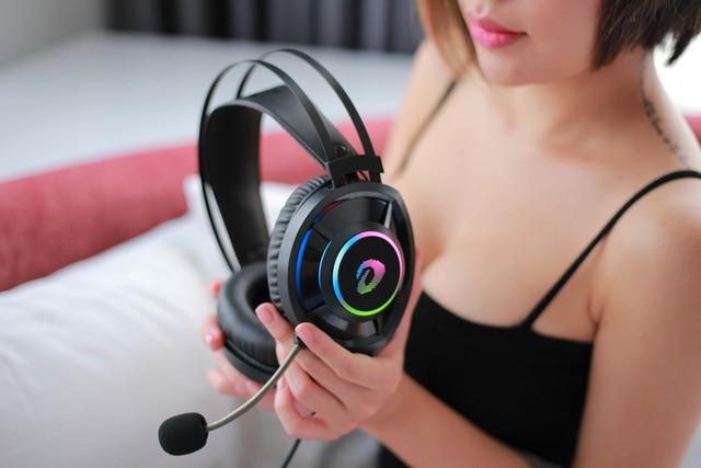 Tai nghe gaming DareU EH469: Vô địch trong tầm giá, chất âm tuyệt vời và thiết kế tròn đẹp mướt mắt - Ảnh 7.