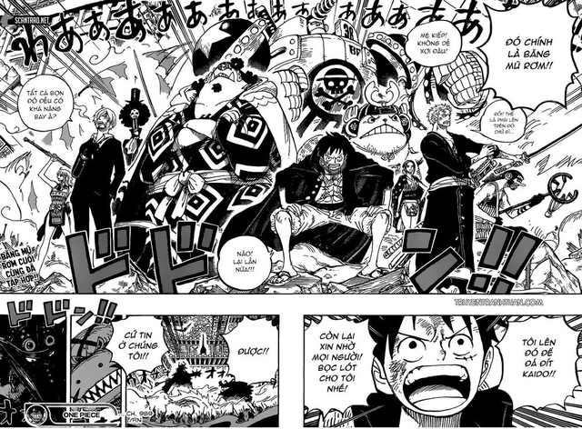One Piece: 10 kẻ địch có sức mạnh quái vật mà băng Mũ Rơm sẽ phải đối mặt tại lâu đài Kaido? (P2) - Ảnh 1.