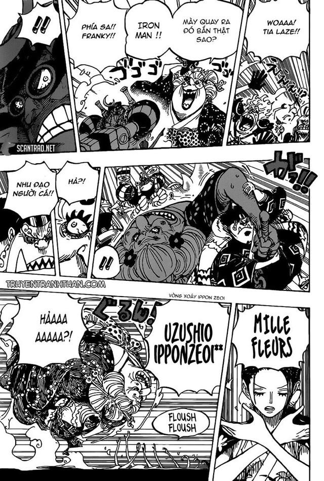 One Piece: Jinbei và Robin, cặp đôi có đầu óc bá đạo nhất của băng Mũ Rơm sẽ tỏa sáng tại Wano quốc - Ảnh 1.