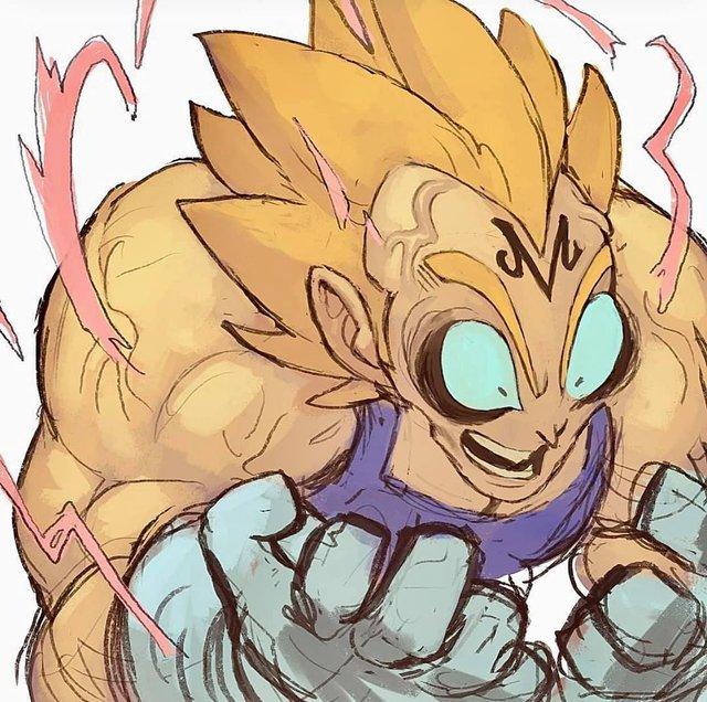 Dàn phản diện trong Dragon Ball trông đáng yêu hết nấc qua loạt ảnh fan art ấn tượng - Ảnh 20.