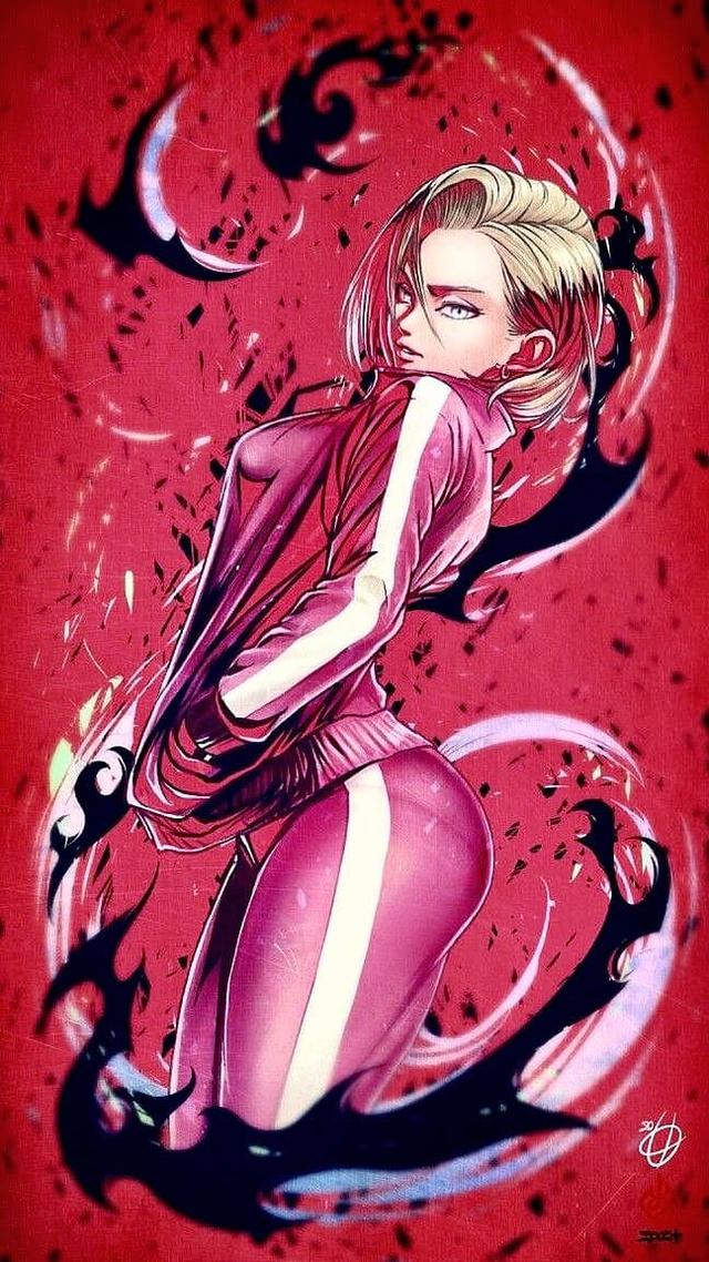 Dragon Ball: Androi 18 khoe trọn đường cong nóng bỏng qua loạt fan art đẹp mê ly - Ảnh 9.