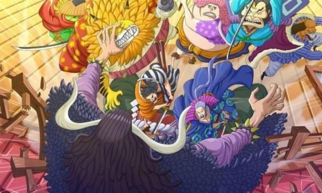 One Piece chap 990: Top 3 ứng cử viên xấu số cho quẻ bói có người sắp chết của Hawkins ở Arc Wano - Ảnh 3.