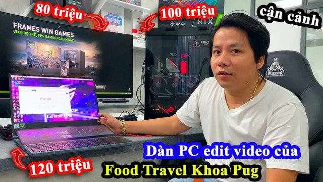 """CĐM choáng với PC trăm """"củ"""" của Khoa Pug, riêng bộ Gear cũng bằng một dàn máy tính của nhiều người - Ảnh 2."""