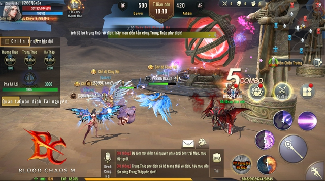 Blood Chaos M - siêu phẩm nhập vai 18+ Moba-1610355981595140150307