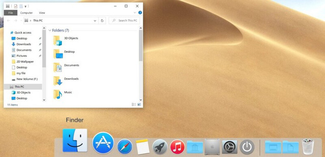 How to use Windows 10 but enjoy the cool, cool interface of MacOS - Picture 14.