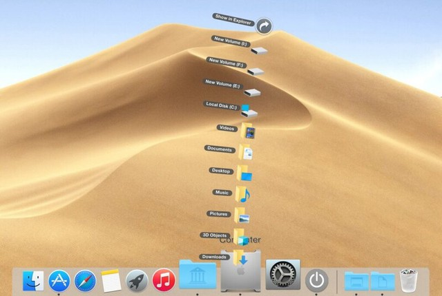 How to use Windows 10 but enjoy the cool, cool interface of MacOS - Picture 9.