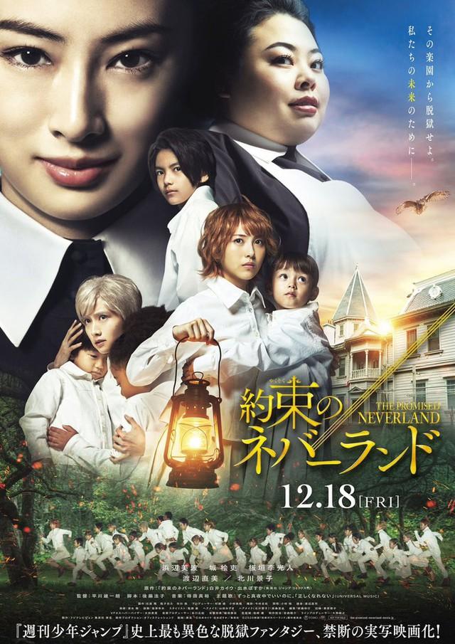 Bóng hồng với nhan sắc gây bão Hamabe Minami sẽ tái xuất màn ảnh rộng trong bản live-action của The Promised Neverland - Ảnh 1.