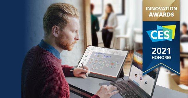 ViewSonic giành giải thưởng CES 2021 nhờ màn hình di động thiết kế của tương lai - Ảnh 1.