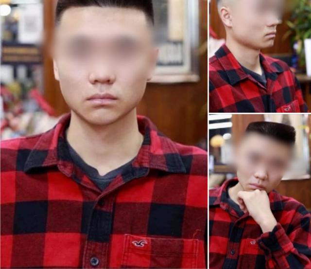 Order tiêu chuẩn kép Đầu đinh nhưng vẫn phải undercut, anh chàng khiến cộng đồng mạng ôm bụng bởi kiểu tóc không thể chất hơn - Ảnh 1.