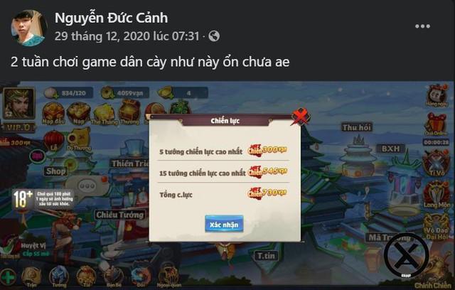Càng nhiều những bài đánh giá như thế này, những người chơi khác lại càng thêm tin tưởng và mong đợi tựa game (Ảnh: Group cộng đồng Thiên Thiên Tam Quốc)