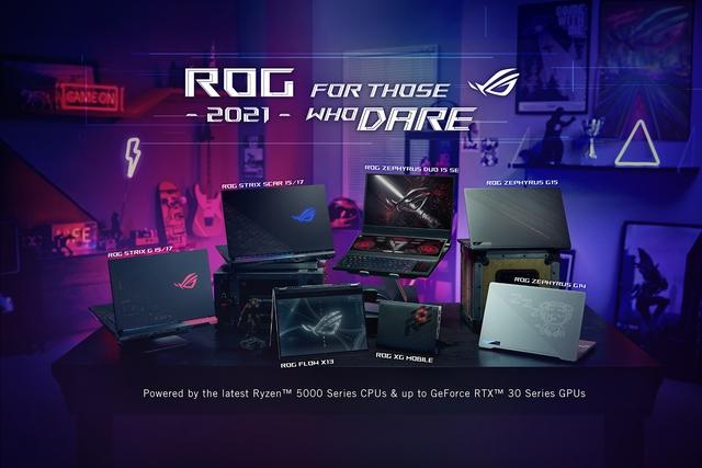 ASUS trình làng ROG Flow X13 và loạt laptop gaming siêu đỉnh tại sự kiện CES 2021 - Ảnh 1.