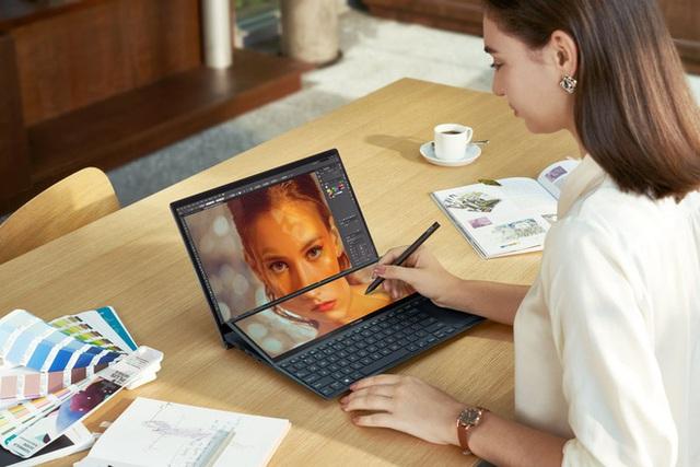 [CES 2021] Asus ra mắt hai mẫu ZenBook Duo mới với màn hình kép chất lừ, VivoBook và ExpertBook lột xác siêu nhẹ - Ảnh 2.
