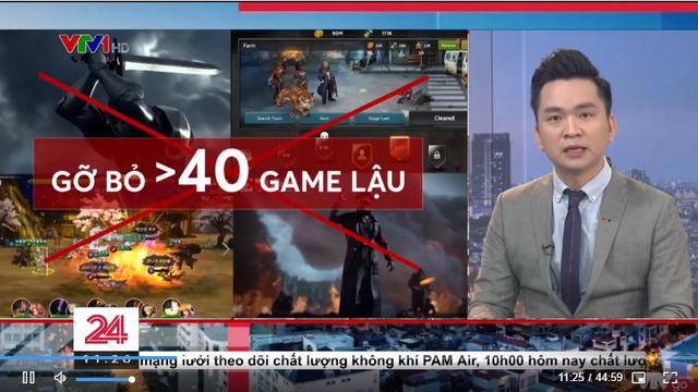 VTV một lần nữa nói về game trên truyền hình, hàng loạt tựa game chắc chắn sẽ bay màu sau bản tin này - Ảnh 2.