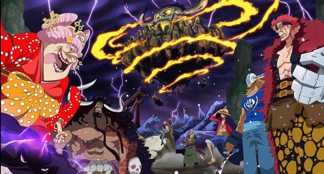 One Piece: Siêu Tân Tinh nào phải bỏ mạng khi combat tổng với 2 Tứ Hoàng cùng một lúc? - Ảnh 1.