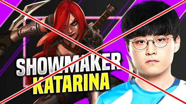 Với ShowMaker thì Katarina chỉ là tướng mang tới phiền toái cho đồng đội
