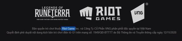 Sốc! Hợp tác phát hành toàn bom tấn, nhưng lâu nay VNG viết sai tên của Riot Games mà rất ít người soi ra - Ảnh 2.