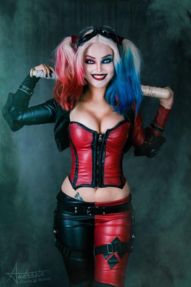 Ngắm cosplay nàng hề Harley Quinn nóng bỏng đến nỗi fan chỉ biết biết tặc lưỡi, chép miệng - Ảnh 5.