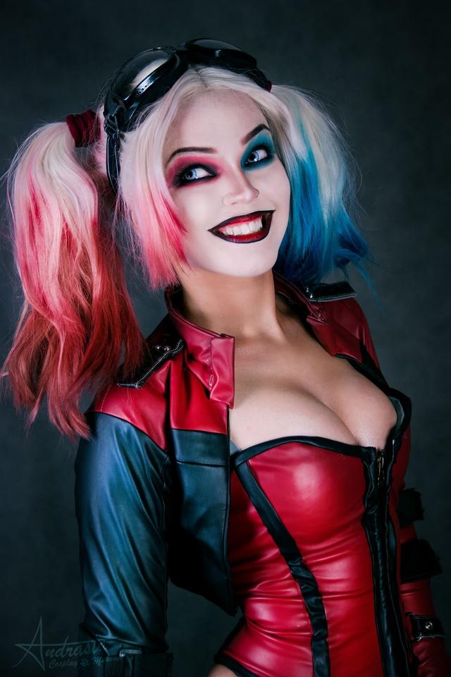 Ngắm cosplay nàng hề Harley Quinn nóng bỏng đến nỗi fan chỉ biết biết tặc lưỡi, chép miệng - Ảnh 6.