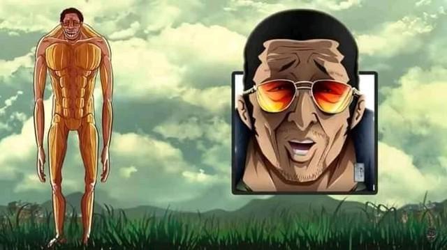 Giật mình khi thấy các nhân vật trong One Piece hóa Titan, Shanks cụt tay, Zoro vẫn đi lạc - Ảnh 18.