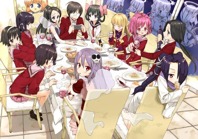 Những bộ manga harem đáng xem nhất dành cho hội thích ăn cẩu lương - Ảnh 2.