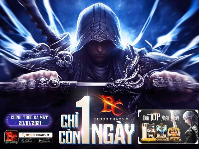 Blood Chaos M chính thức ra mắt ngày mai 20/1 và 3 lưu ý trước giờ xuất chiến - Ảnh 1.