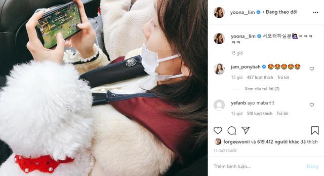 Ai rồi cũng Tốc Chiến thôi: Quốc bảo mỹ nữ xứ Hàn - Yoona (SNSD) đăng ảnh try-hard game, lại còn quẩy Dasua cực căng - Ảnh 2.