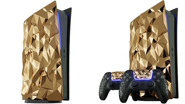 PlayStation 5 bản đặc biệt phủ 20kg vàng, bọc da cá sấu... giá chỉ tầm 22 tỷ đồng - Ảnh 2.