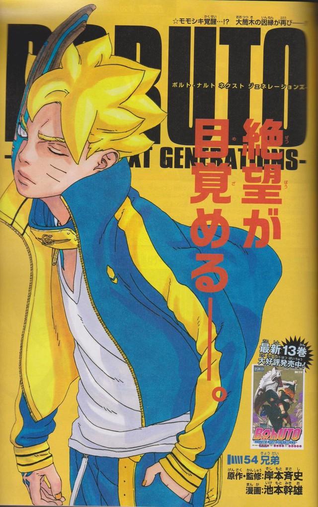 Spoil Boruto chap 54: Borushiki náo loạn buộc Sasuke dùng tới Amaterasu, Naruto bất tỉnh nhân sự - Ảnh 1.
