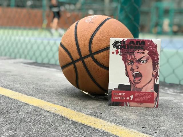 Sự trở lại của huyền thoại Slam Dunk trong phiên bản Deluxe Edition sang chảnh của NXB Kim Đồng - Ảnh 1.