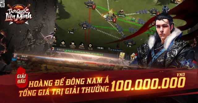 Siêu phẩm Tam Quốc Liên Minh tổ chức giải đấu Hoàng Đế ASEAN, thưởng 100 triệu cho gamer đầu tiên thống nhất đấu trường chiến thuật Đông Nam Á - Ảnh 5.