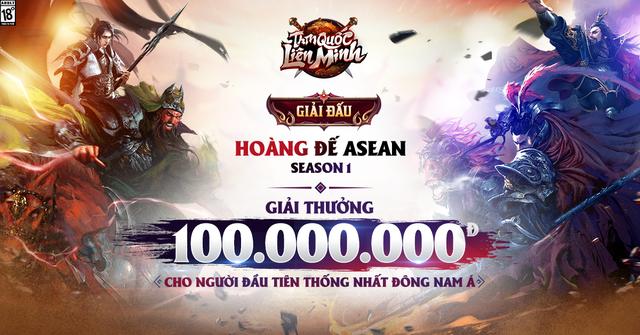 Siêu phẩm Tam Quốc Liên Minh tổ chức giải đấu Hoàng Đế ASEAN, thưởng 100 triệu cho gamer đầu tiên thống nhất đấu trường chiến thuật Đông Nam Á - Ảnh 7.